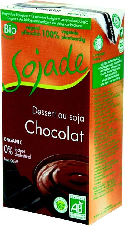 sojade cr me dessert chocolat 530g st ouen l 39 aum ne. Black Bedroom Furniture Sets. Home Design Ideas