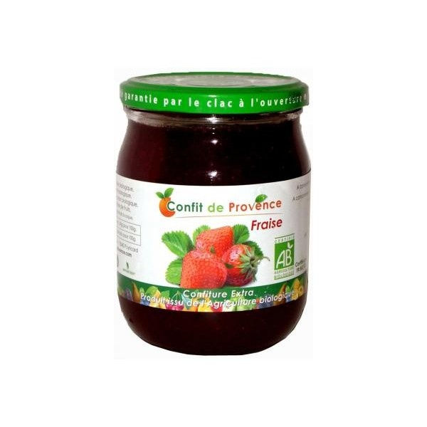 confiture de fraise 650g st ouen l 39 aum ne. Black Bedroom Furniture Sets. Home Design Ideas